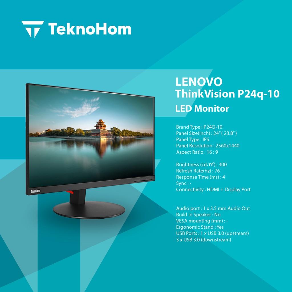 LENOVO P24Q-10 Desktop Monitor